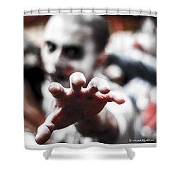 Shower Curtain featuring the photograph The Brain Snatcher by Stwayne Keubrick