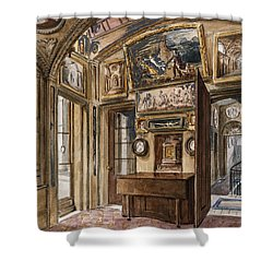 The Breakfast Room Shower Curtain by Charles James Richardson