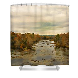 The Broad River Shower Curtain