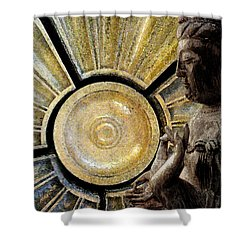 the Buddha  c2014  Paul Ashby Shower Curtain