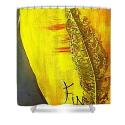 The Bugs Got To It First Shower Curtain by PainterArtist FIN