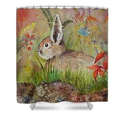The Bunny Shower Curtain
