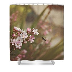 The Busy Bee Shower Curtain by Angela A Stanton