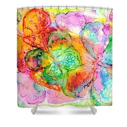 The Butterfly Dance Shower Curtain