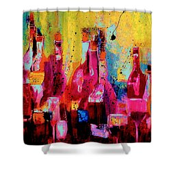 The Cabaret Shower Curtain by Lisa Kaiser