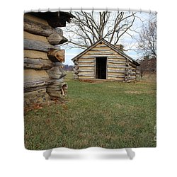The Cabins Shower Curtain