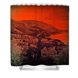 The Cabot Trail Shower Curtain