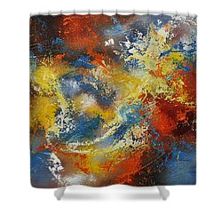 The Calm Through The Storm Shower Curtain by Craig T Burgwardt