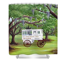 The Candy Cart Shower Curtain