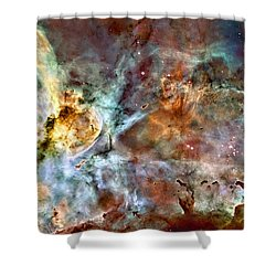 The Carina Nebula Shower Curtain