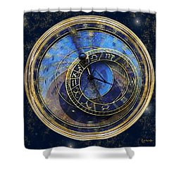 The Carousel Of Time Shower Curtain