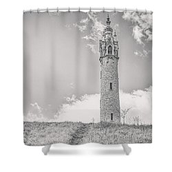 The Castle Tower Shower Curtain