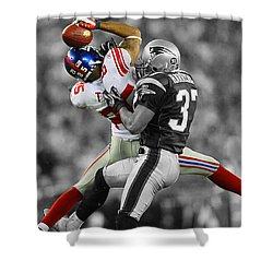 The Catch Shower Curtain by Brian Reaves