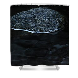 The Cave Shower Curtain by Amy Gallagher