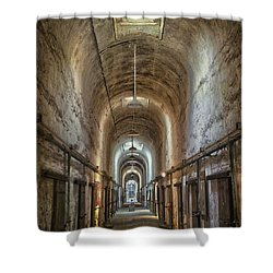 The Cell Block Shower Curtain