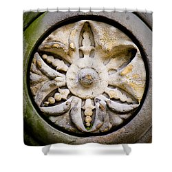 The Central Park Medallion Shower Curtain by Lisa Russo