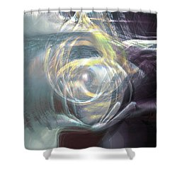 The Chamber Shower Curtain
