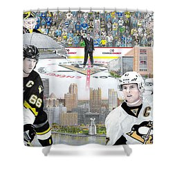 The Changing Of The Guard Shower Curtain by Albert Puskaric