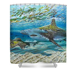 The Chase Shower Curtain by Carey Chen