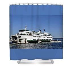The Chelan Shower Curtain