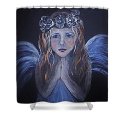 The Child Within Shower Curtain by The Art With A Heart By Charlotte Phillips