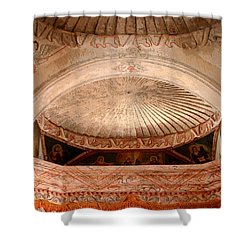 The Choir Loft Shower Curtain by Joe Kozlowski