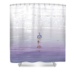 Shower Curtain featuring the photograph The Chosen One by Holly Kempe