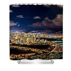 The City Of Aloha Shower Curtain