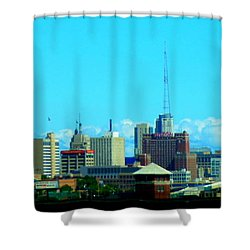 The City Of Festivals Shower Curtain