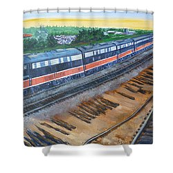 The City Of New Orleans Shower Curtain by Bryan Bustard
