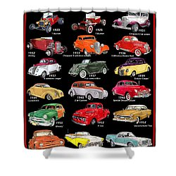 The Ford Shower Curtain Shower Curtain by Jack Pumphrey