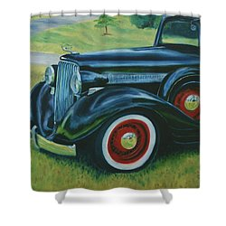 The Classic Shower Curtain