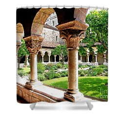 The Cloisters Shower Curtain by Sarah Loft