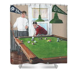 The Club House Shower Curtain