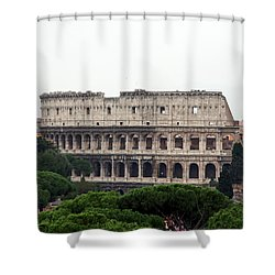 The Coliseum  Shower Curtain
