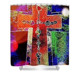 The Color Of Hope Shower Curtain by Robert ONeil