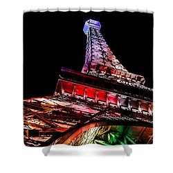 The Color Of Love Shower Curtain by Az Jackson