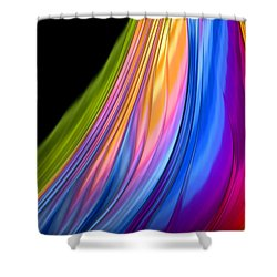 The Color Of Rain Shower Curtain