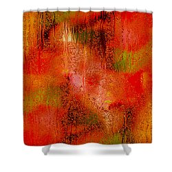 The Colors Of Autumn Abstract Shower Curtain