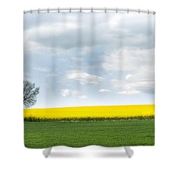 The Colors Of Spring Shower Curtain by Mike Santis