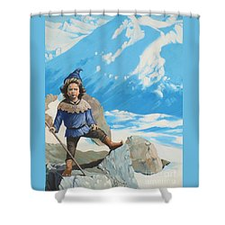 The Conquerer. Shower Curtain