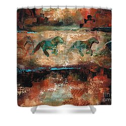 The Cookie Jar Shower Curtain by Frances Marino