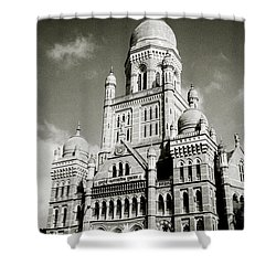 The Corporation Building Bombay Shower Curtain
