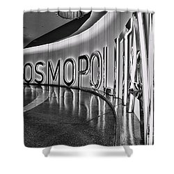 The Cosmopolitan Hotel Las Vegas By Diana Sainz Shower Curtain