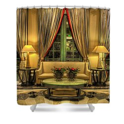The Couch Shower Curtain