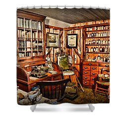 The Country Doctor Shower Curtain by Paul Ward