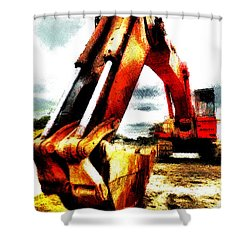 The Crab Claw Shower Curtain