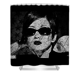 The Cracked Facade Shower Curtain by Absinthe Art By Michelle LeAnn Scott
