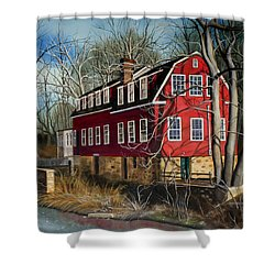 The Cranford Mill Shower Curtain