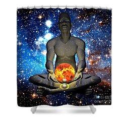 The Creator Shower Curtain
